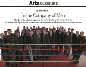 In the Company of Men Arts & Leisure