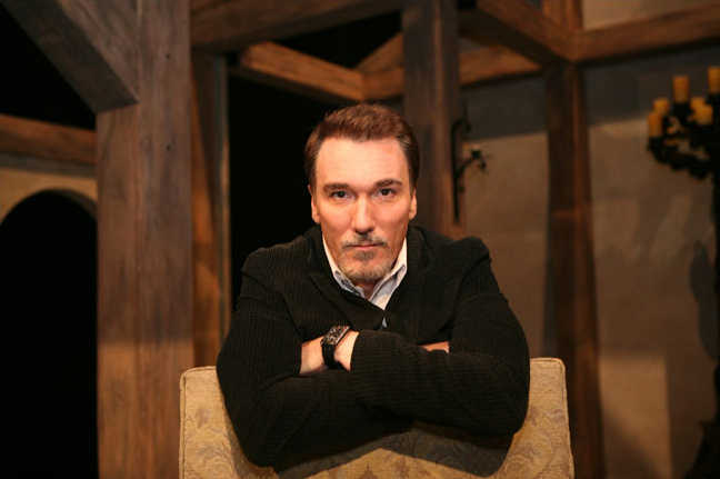 Patrick Page as King Henry in A Man For All Seasons - photo by Sara Krulwich
