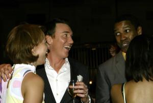Paige Davis, Patrick Page and Denzel Washington on Opening Night