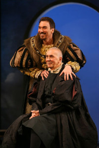 Patrick Page and Frank Langella in A Man For All Seasons - photo by Sara Krulwich