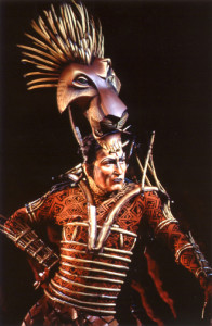 Patrick Page as Scar in THE LION KING