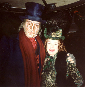 Patrick Page and Joy Hermalyn
