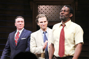 Patrick Page, Sebastian Arcelus and A Time To Kill