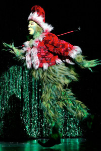 Patrick Page as the Grinch - photo by Paul Kolnick