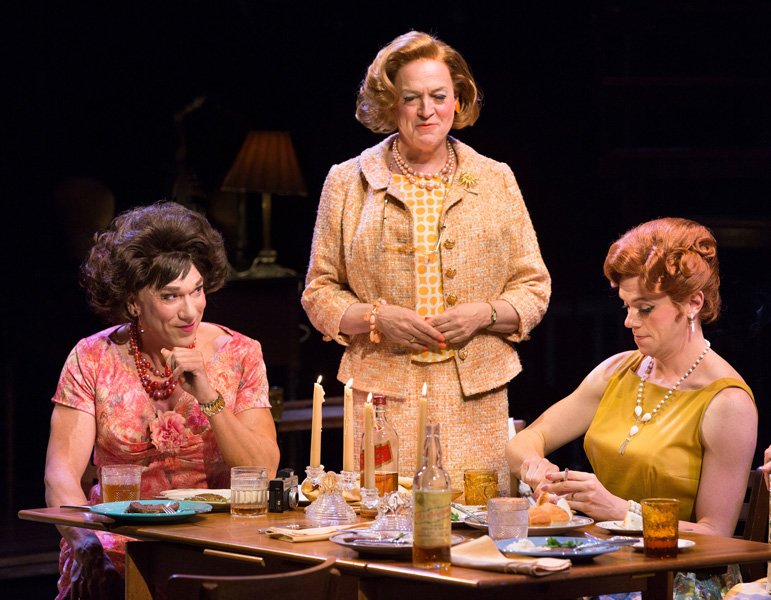 Patrick Page, Reed Birney and Nick Westrate in CASA VALENTINA