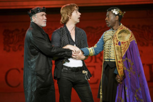 Patrick Page in Cymbeline - Shakespeare in the Park