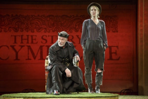 Patrick Page and Lily Rabe in Cymbeline - Shakespeare in the Park