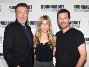 Patrick Page, Clemence Poesy and Douglas Hodge in Cyrano de Bergerac