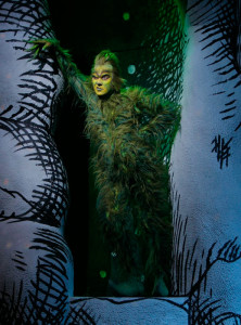 Patrick Page as the Grinch in Dr. Seuss' How The Grinch Stole Christmas!
