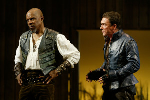 Brooks and Page go man-to-man in Kahn's trad Shakespeare