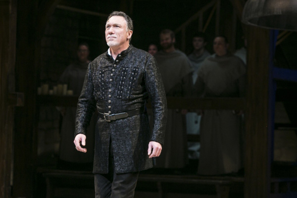 Patrick Page in The Hunchback of Notre Dame at Paper Mill Playhouse