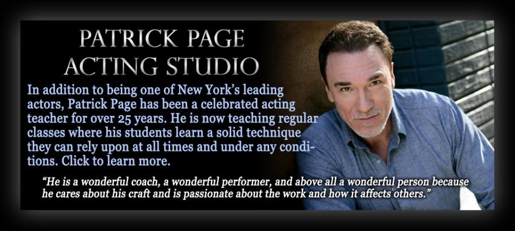 Patrick Page Acting Studio