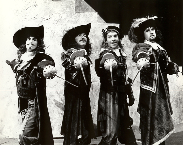 Patrick Page in THE THREE MUSKETEERS
