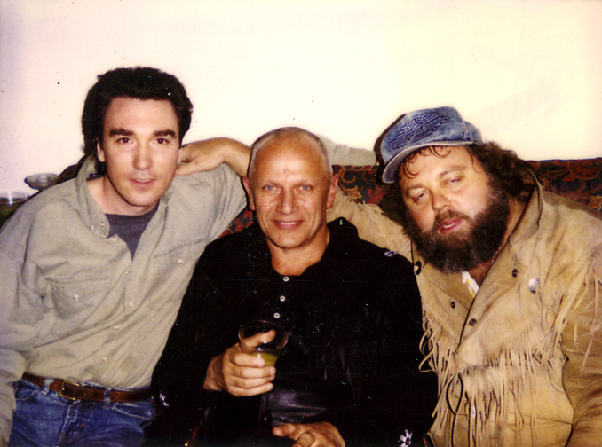 Patrick Page, Steven Berkoff and TJ Meyer
