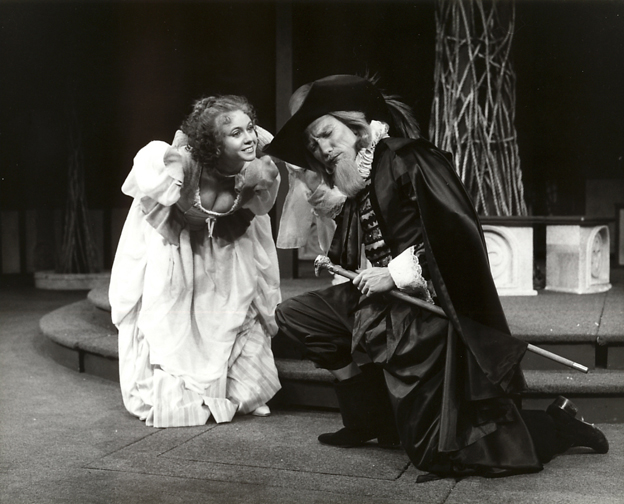 Carliss Preston and Patrick Page in LOVES LABOURS LOST