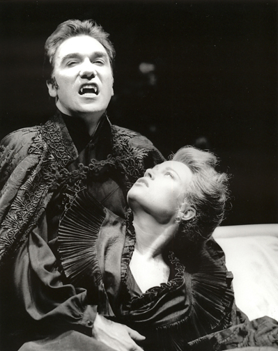 Patrick as Dracula in Dracula at Arizona Shakespeare Festival