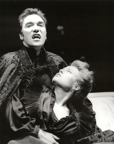 Patrick as Dracula in Dracula at Arizona Shakespeare Festival