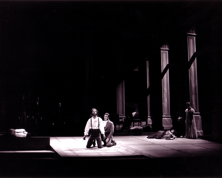 Patrick Page as Horatio in HAMLET
