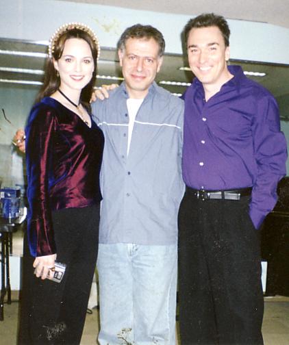 Melissa Erico, Patrick Page and BD Wong