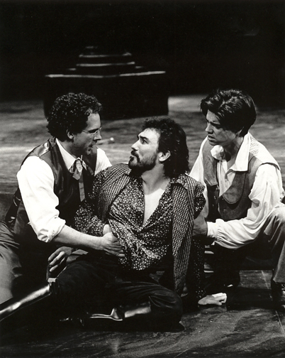 Patrick as Mercutio in Romeo and Juliet at Missouri Repertory Theatre