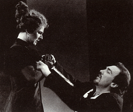 Jessica Walling and Patrick Page in RICHARD III