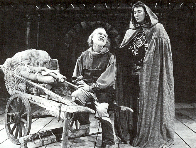 Ricahrd Mathews and Patrick Page in HENRY V