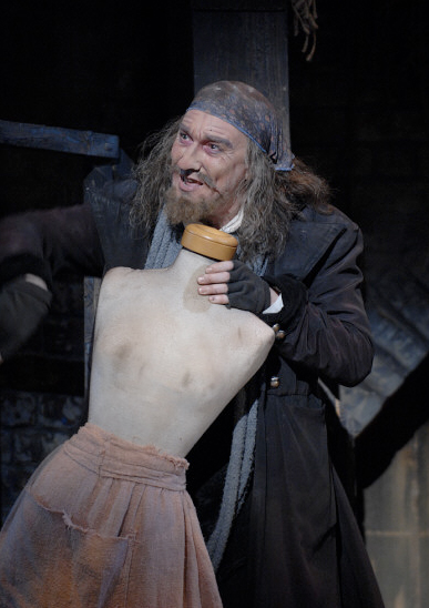 Patrick Page as Fagin in OLIVER at Pittsburgh CLO