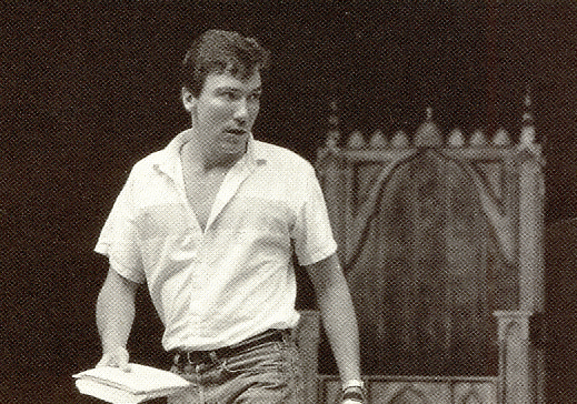 Patrick Page in rehearsal for RICHARD III