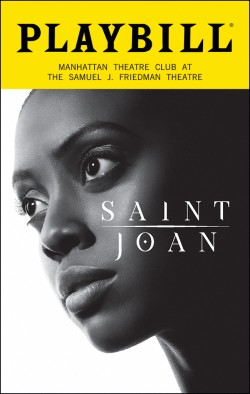 Saint Joan Playbill