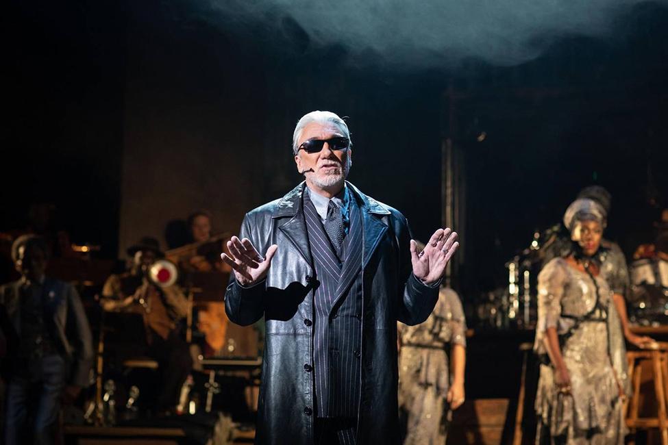 Patrick Page as Hades Hadestown at the National Theatre - c Helen Maybanks