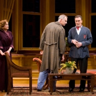 Ellen Karas as Katharine Dougherty, Jim Abele as Jim Dougherty and Patrick Page as Biddeford Poole