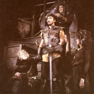 Patrick Page, Laurie Birmingham, Amy Thone and Doug Zschiegner in MACBETH
