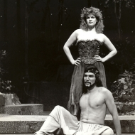 Lynn Chausow and Patrick Page in A MIDSUMMER NIGHT'S DREAM