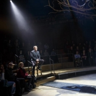 Patrick Page and Damon Daunno in HADESTOWN at NYTW