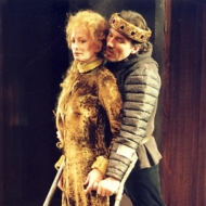 Gwendolyn Lewis and Patrick Page in RICHARD III